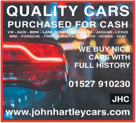 John Hartley Advert