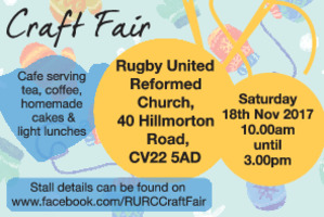 Rugby United Reformed Church Advert