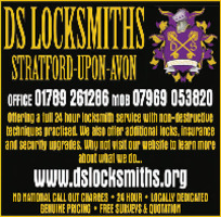 Ds Locksmiths Advert