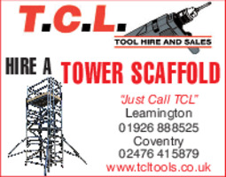 TCL Tool Hire Advert