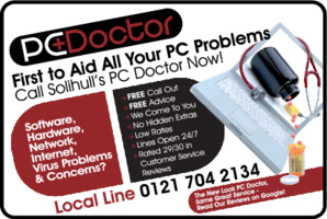 Pc Doctor Solihull Advert