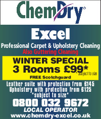 CD Excel Ltd t/a Chemdry Advert