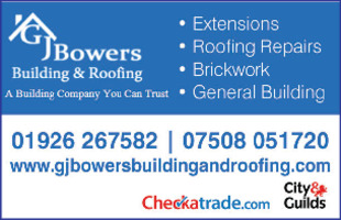 G J Bowers Building And Roofing Advert