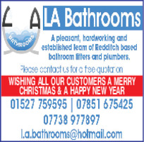 L.A Bathrooms Services Limited Advert