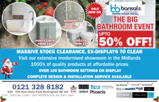 Bansals Bathrooms Ltd Advert