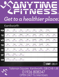 Anytime Fitness Advert