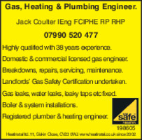 Heatinstal Ltd Advert