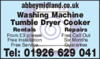 Abbey Rentals Advert