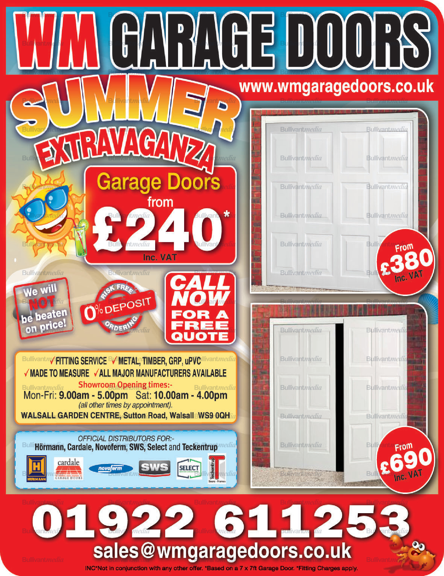 West Midlands Garage Doors Ltd Directory 247