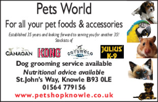 Pets World Advert