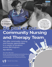 Birmingham Community Healthcare Nhs I Advert