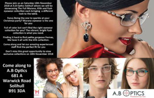 A. B Optics Advert