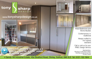 Tony Sharp Design Advert