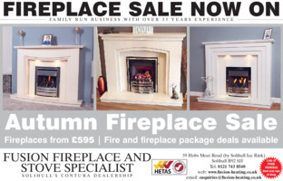Fusion Fireplaces Advert