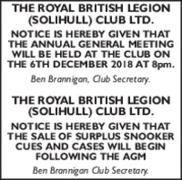 The Royal British Legion Advert