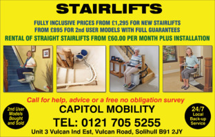 Capitol Mobility Advert