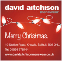 David Aitchison Menswear Advert