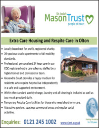 Sir Josiah Mason Trust Advert
