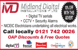 Midland Digital Installations Ltd. Advert