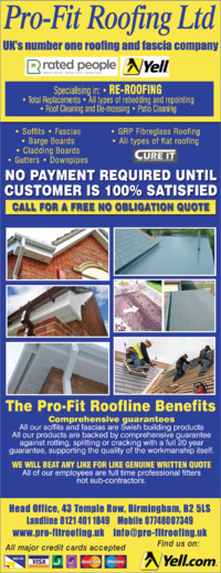 Pro-Fit Roofing Ltd Advert