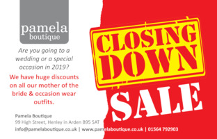 Pamela Of Henley Advert