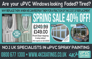 4k Coatings Ltd Advert