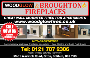 Woodglow Fireplaces Advert
