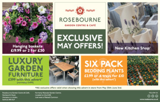 Rosebourne Ltd T/A Wyvale Garden Centre Advert