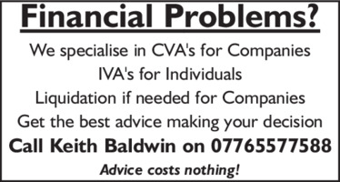 Keith Baldwin Advert