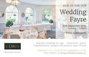 Corus Hotels Solihull Advert