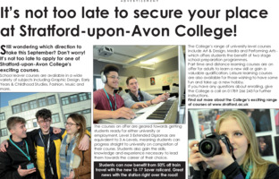 Solihull College Advert