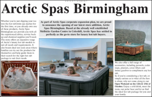 Arctic Spas Ltd Advert