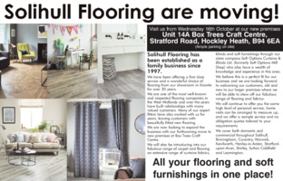 Solihull Flooring Supplies Advert