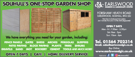 Earlswood Nurseries Advert
