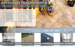 No Rogue Traders Advert