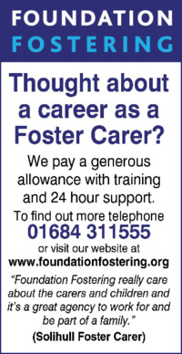 Foundation Fostering Ltd Advert
