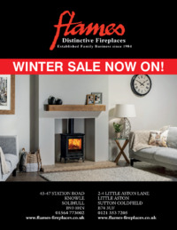 Flames Fireplaces Ltd Advert