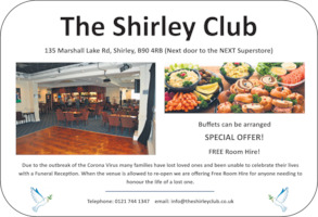 Shirley Social Club Ltd Advert