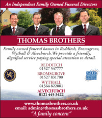 Thomas Brothers Advert