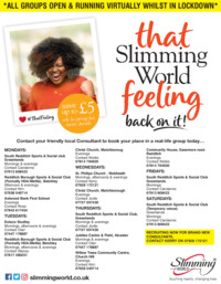 Slimming World Advert
