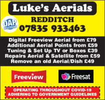 My Digital Aerials Advert