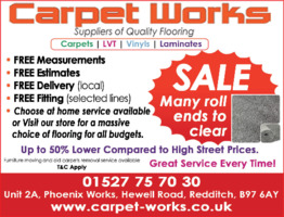 Carpet Works Advert