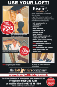 The Loft Stairs Co Ltd Advert