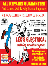 Leo's Electrical Advert
