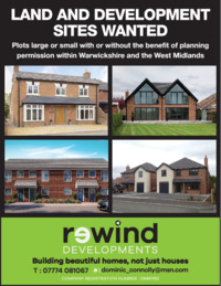 Rewind Developments Ltd Advert