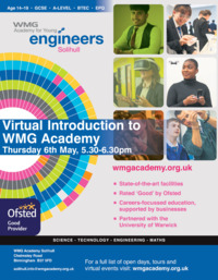 Wmg Academy For Young Engineers Advert