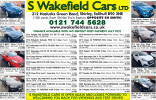 S Wakefield Cars Ltd Advert