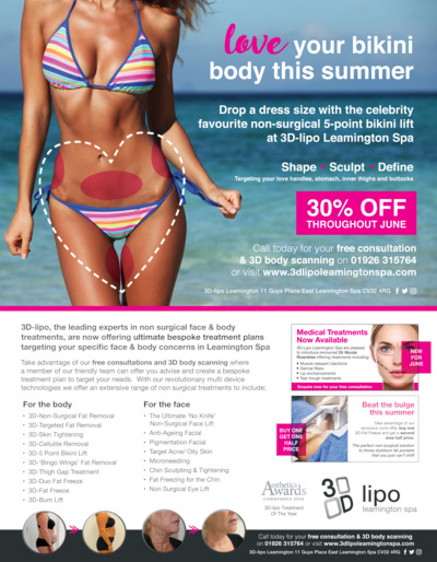 3D-Lipo Leamington Limited Advert