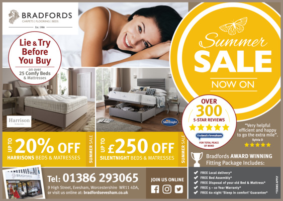 Bradfords Advert
