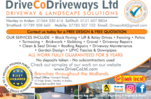 Driveco Driveways Ltd Advert